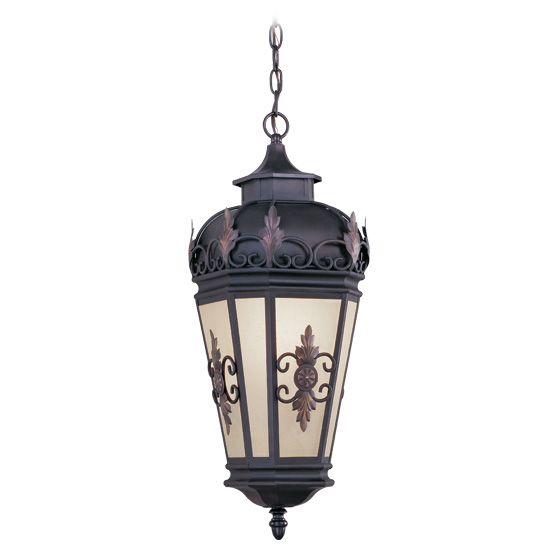 Livex Lighting 2195-07 Berkshire Outdoor Chain Hang in Bronze